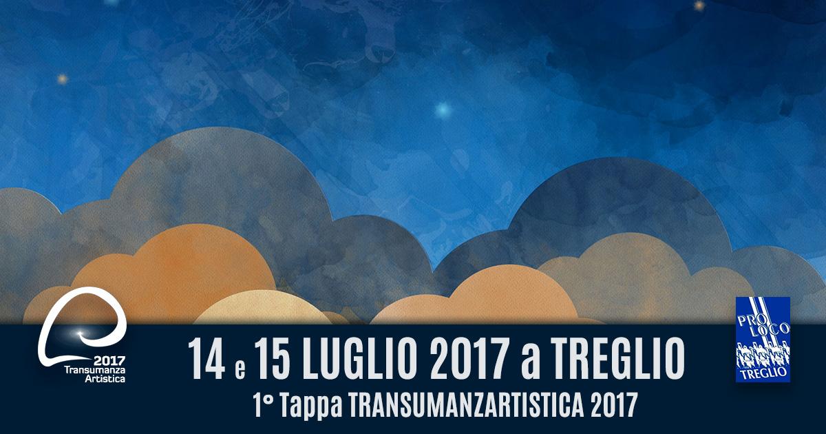 TRANSUMANZA ARTISTICA Evento TREGLIO il14 e 15 Luglio 2017